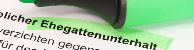 Ein Anspruch auf Vorsorgeunterhalt schließt den ehebedingten Nachteil aus